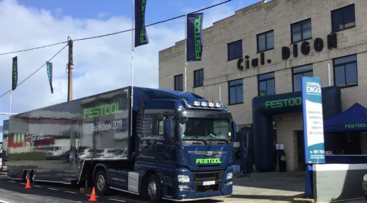 Resumen evento Festool Roadshow 2019